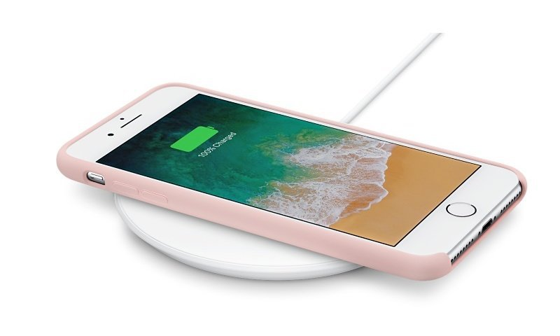 chargeur induction iphone