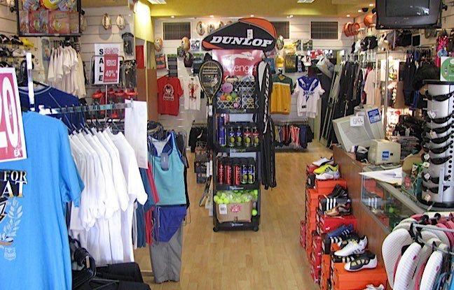 magasin de sport paris