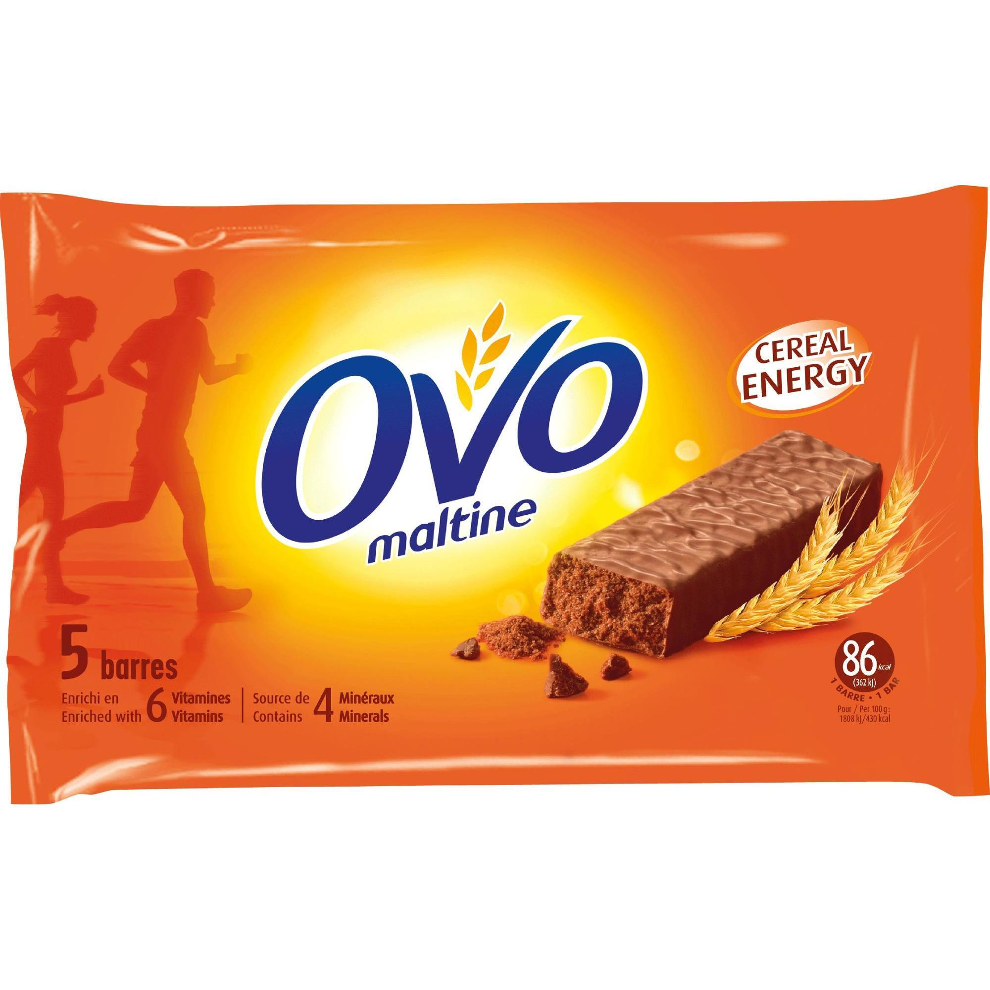 ovomaltine barre