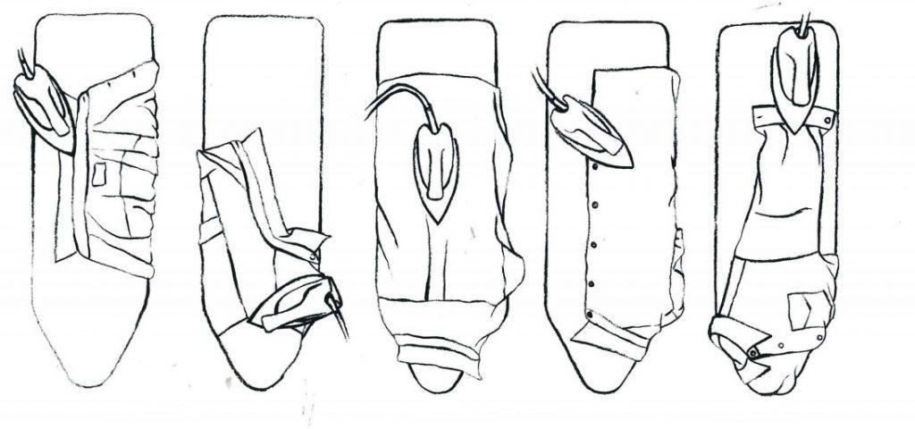 repasser une chemise