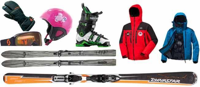 ski materiel