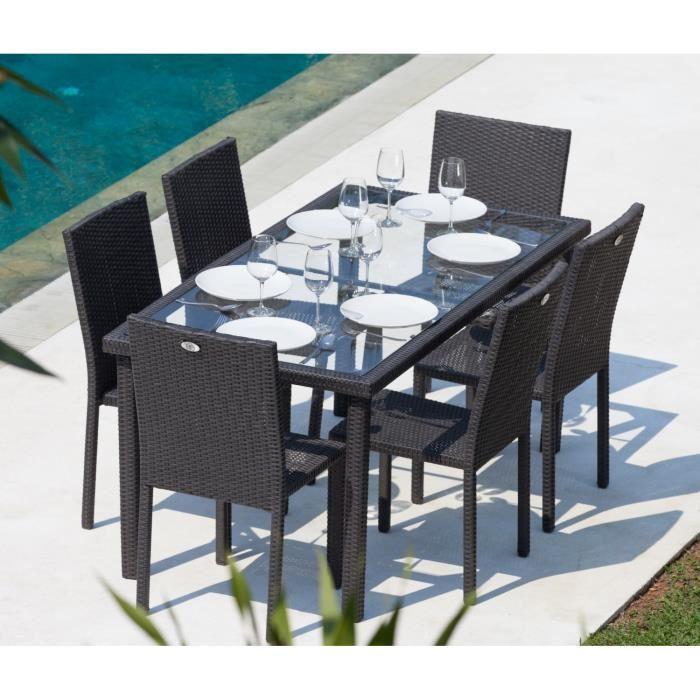 table et chaise de jardin