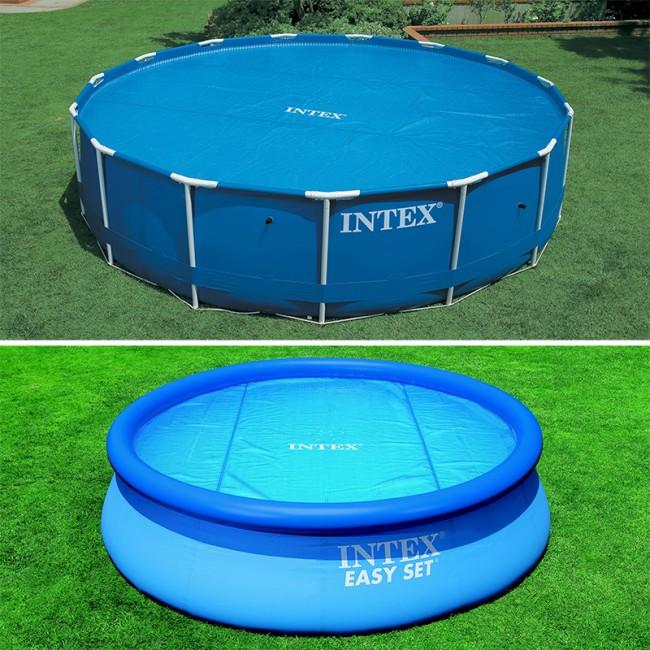 bache piscine intex
