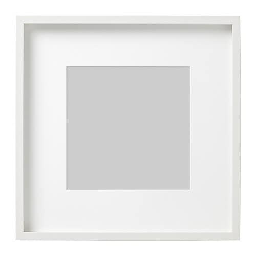 cadre photo blanc