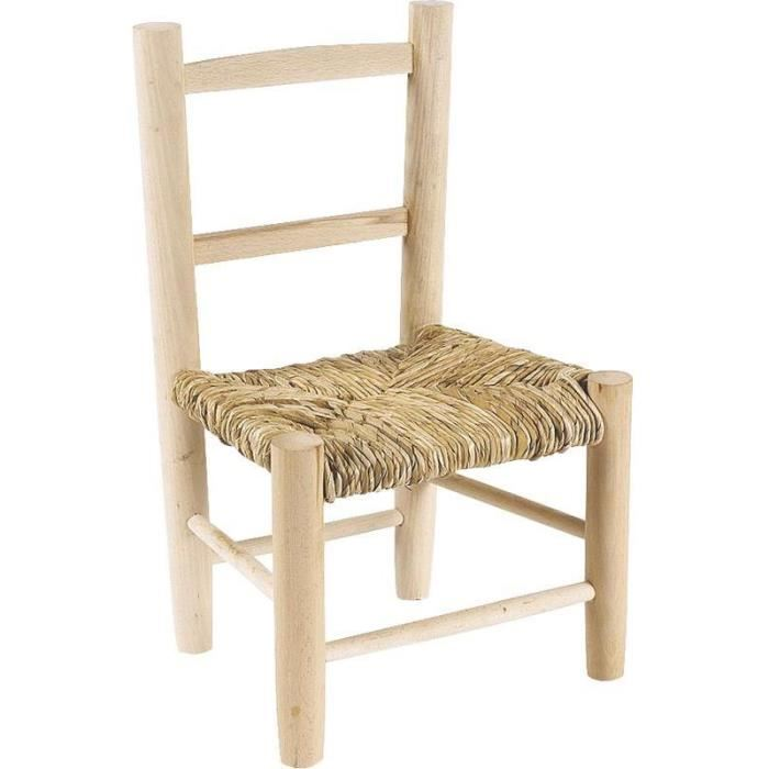 chaise enfant bois