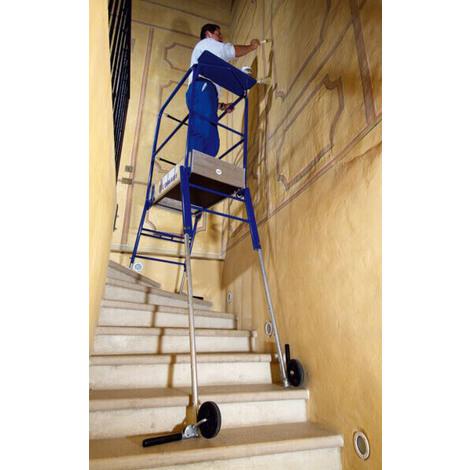 echafaudage escalier