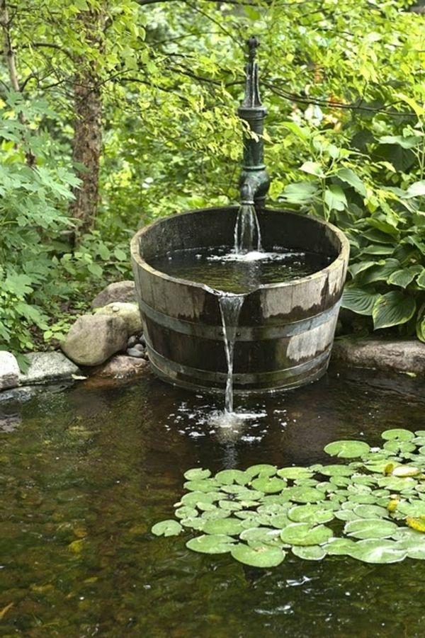 fontaine pour jardin