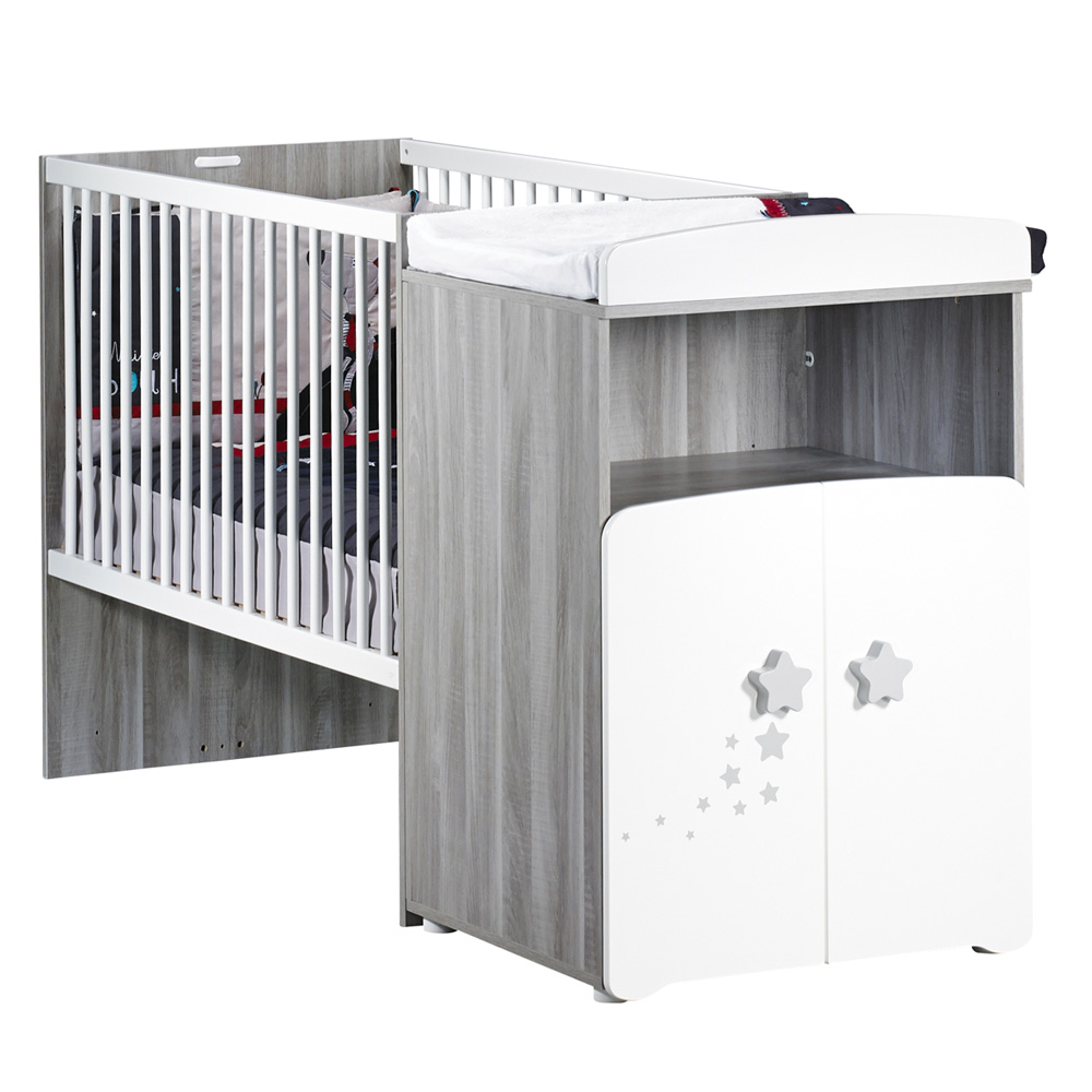lit bébé combiné évolutif