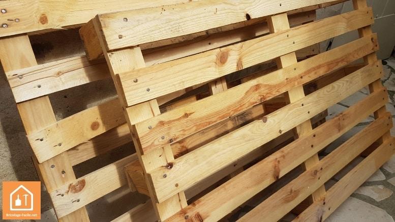 ou trouver des palettes en bois