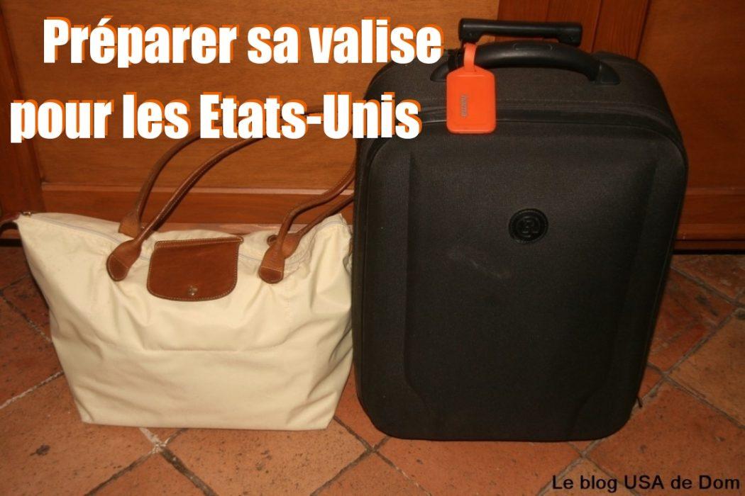 quelle valise pour les usa