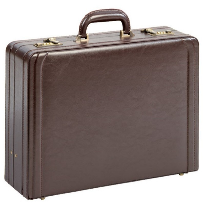 attaché case en cuir