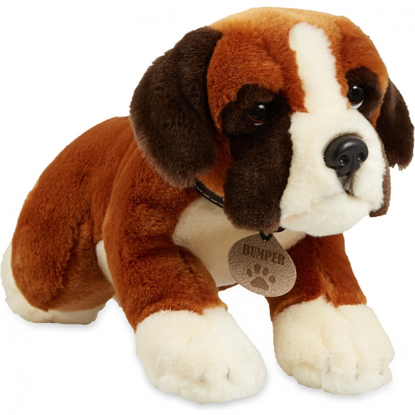chien en peluche