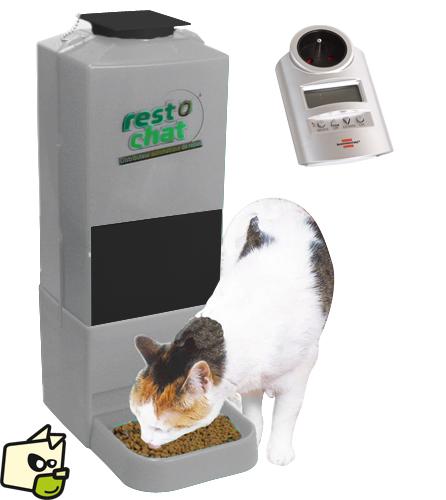distributeur croquette chat automatique