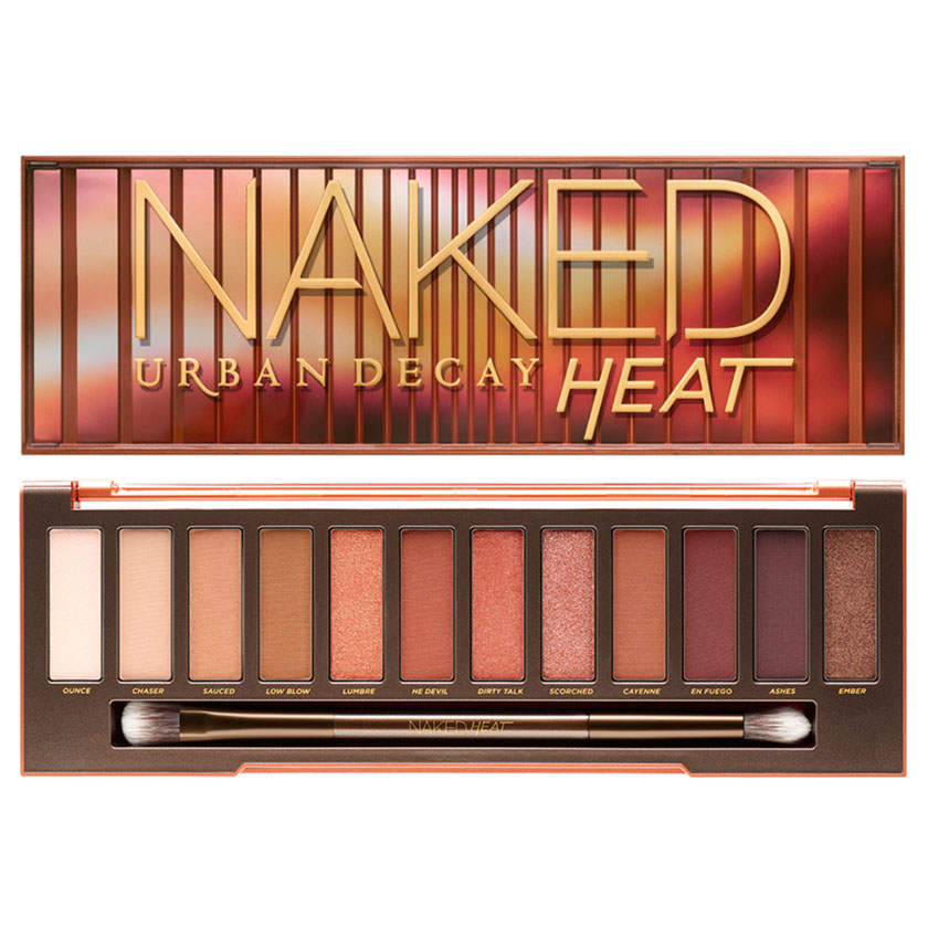 naked palette heat