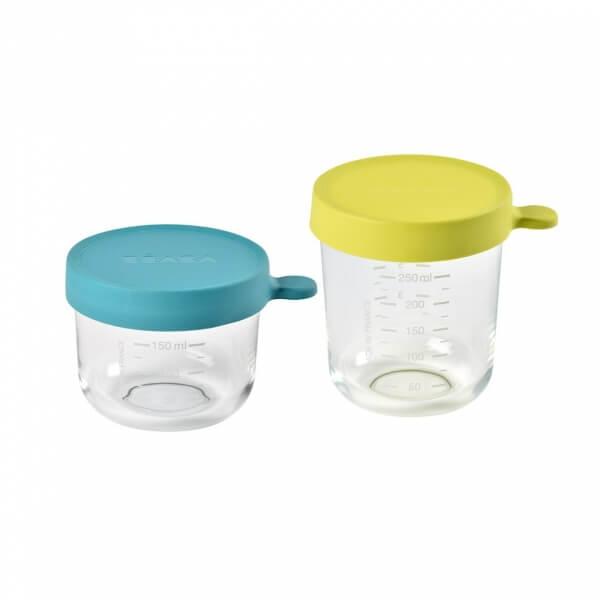 pot de conservation bébé en verre